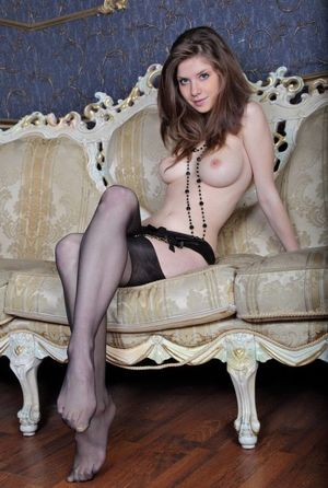 Babes - cute young brunette girl with..