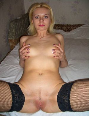 Real blond wife dildos - Other