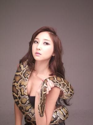 Snake Girl, Mina - Korean Girls