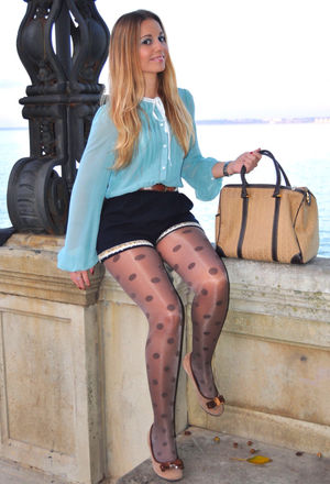 2013 Paris Fashion Style: Shorts with..