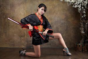 Cha Sun Hwa, Samurai Girl @PhimVu..