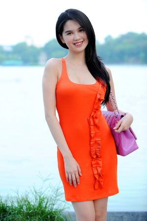 1000asianbeauties: Ngoc Trinh in..