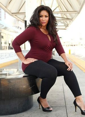 10 Black Plus-Size Models Changing The..