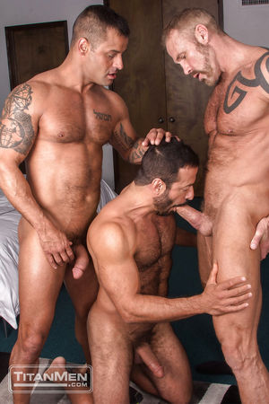 David Benjamin, Dallas Steele & Vinnie..