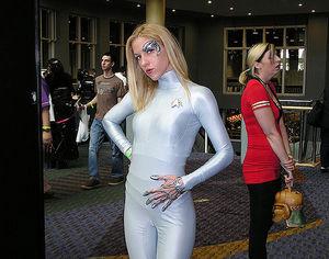 Star Trek Sexy Cosplay Girl - Bikini..
