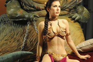 Princess Leia's slave costume..