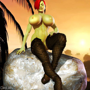 Sexy Orc females -set 9