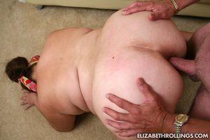 This naughty BBW Elizabeth Rollings..