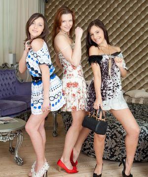 Teenage gg three Teen Models