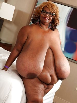 Huge Ebony Tits - The One and Only..