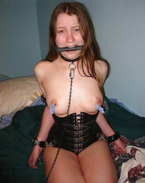 Amateur Teens in ballgag and ring gag,..