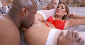 August Ames Gets Tossed Like A Salad..