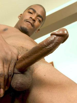 Brawny Man Shows His Big Erected -..