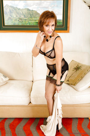 Hot redhead mature woman Roni Ford..