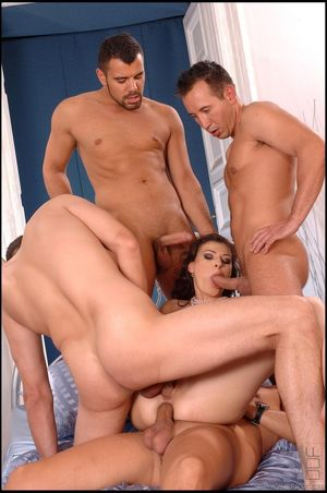 Double Penetration One in each holes..
