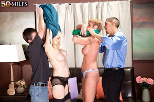 50 Plus MILFs - Honey Ray And Robin:..