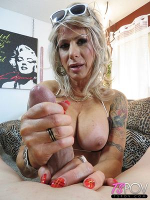 TS POV Super Busty Robbi Racks Plays..