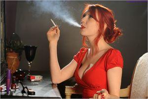 Girls Smoking Cigars Cigar Smoking..
