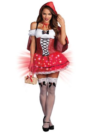 Little Red De-Light Costume -..