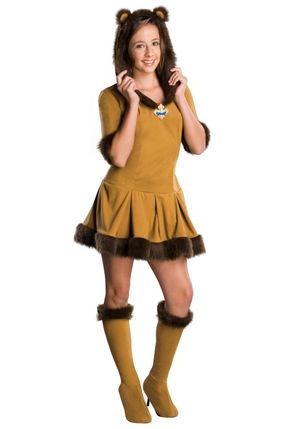 Teen Cowardly Lion Costume - Halloween..