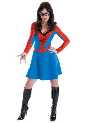 Womens Spider Girl Costume - Halloween..