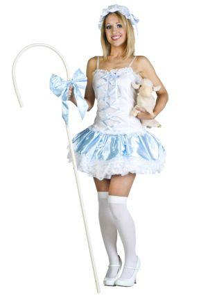 Sexy Bo Peep Costume - Halloween..
