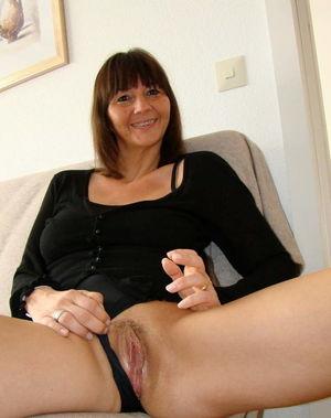 Adorable older mom getting pleasured..