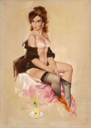 Pin-up Art of Fritz Willis (140..