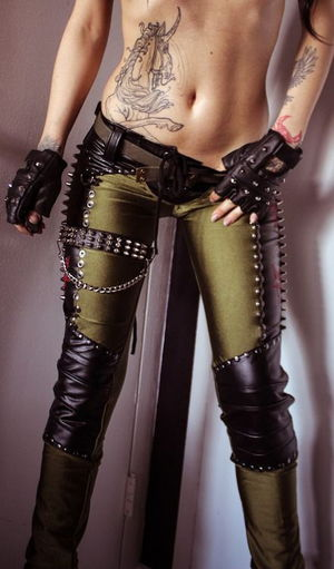 Postapocalyptic Fashion and Steampunk..