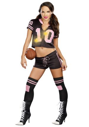Women's Sexy Touchdown Football..