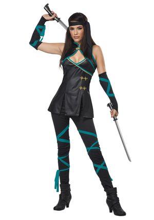 Sexy Ninja Costume - Halloween Costume..