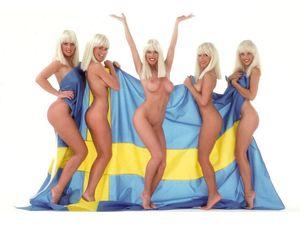 Naked sweden bikini team - Excelent porn
