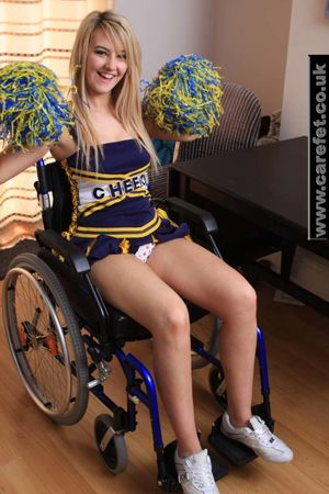 Wheel chair blow job - Other - Free..