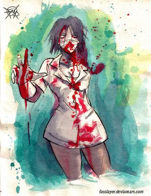 Fernando Santibáñez - Zombie Nurse