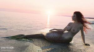 Ariel (Spektra3DX) The Little Mermaid..