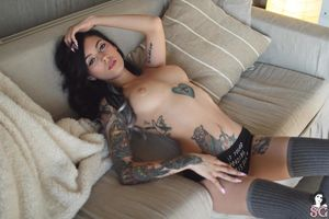 Beautiful Sexy Suicide Girl High..