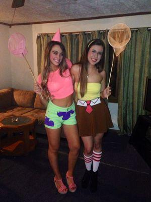 Sexy Spongebob and Patrick Halloween..