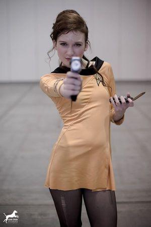 Sexy Star Trek SchoolGirl Tart Sexy..