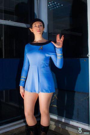 Female Spock Star Trek Girls