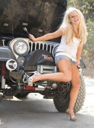 Sexy Jeep Girl Jeep Girls