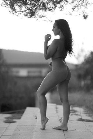 Spanish model Roser Garcia nude sexy..