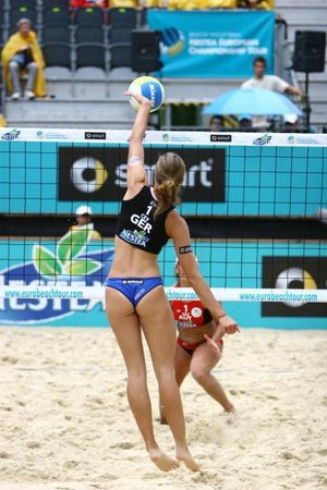 Beach Volleyball Sports Photography -..