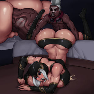 Ashe Interracial Sex by Rampage0118 -..