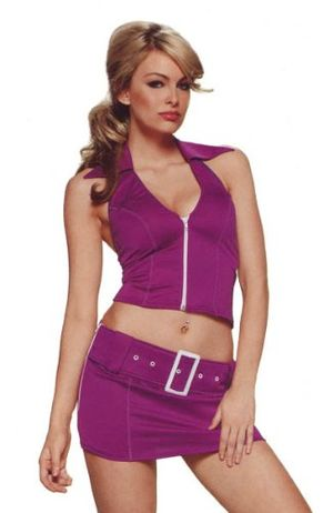 Sexy Girls Dress & Costumes: Purple..