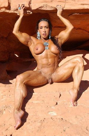 Sexy nude muscle girl - Other - XXX..