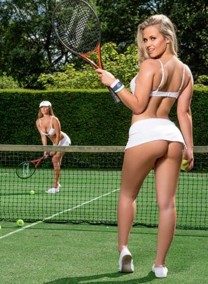 Anyone for tennis? Daisy Watts and..