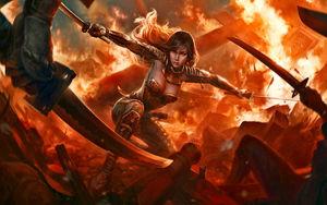 Fantasy Warrior Women Wallpaper (78+..