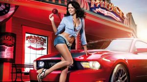 mustang-2010-with-hot-babe -..