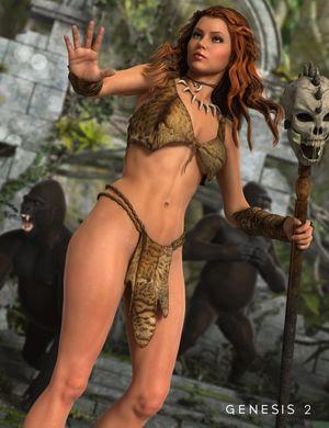 "Jungle Genesis "" TOPGFX Daz3d.."