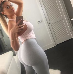 Nude Share -yogapants - White Girl Booty
